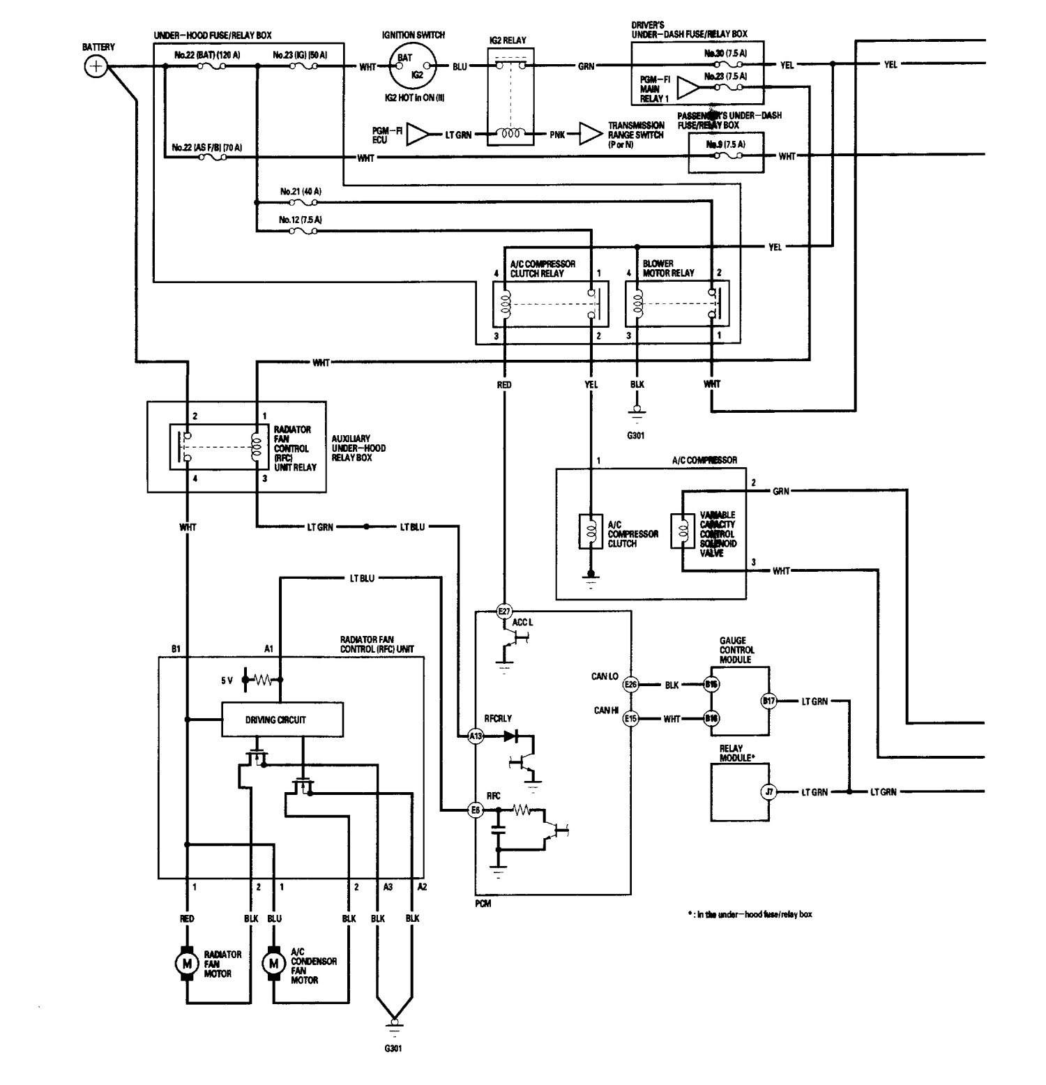 acura rl  2006  - wiring diagrams