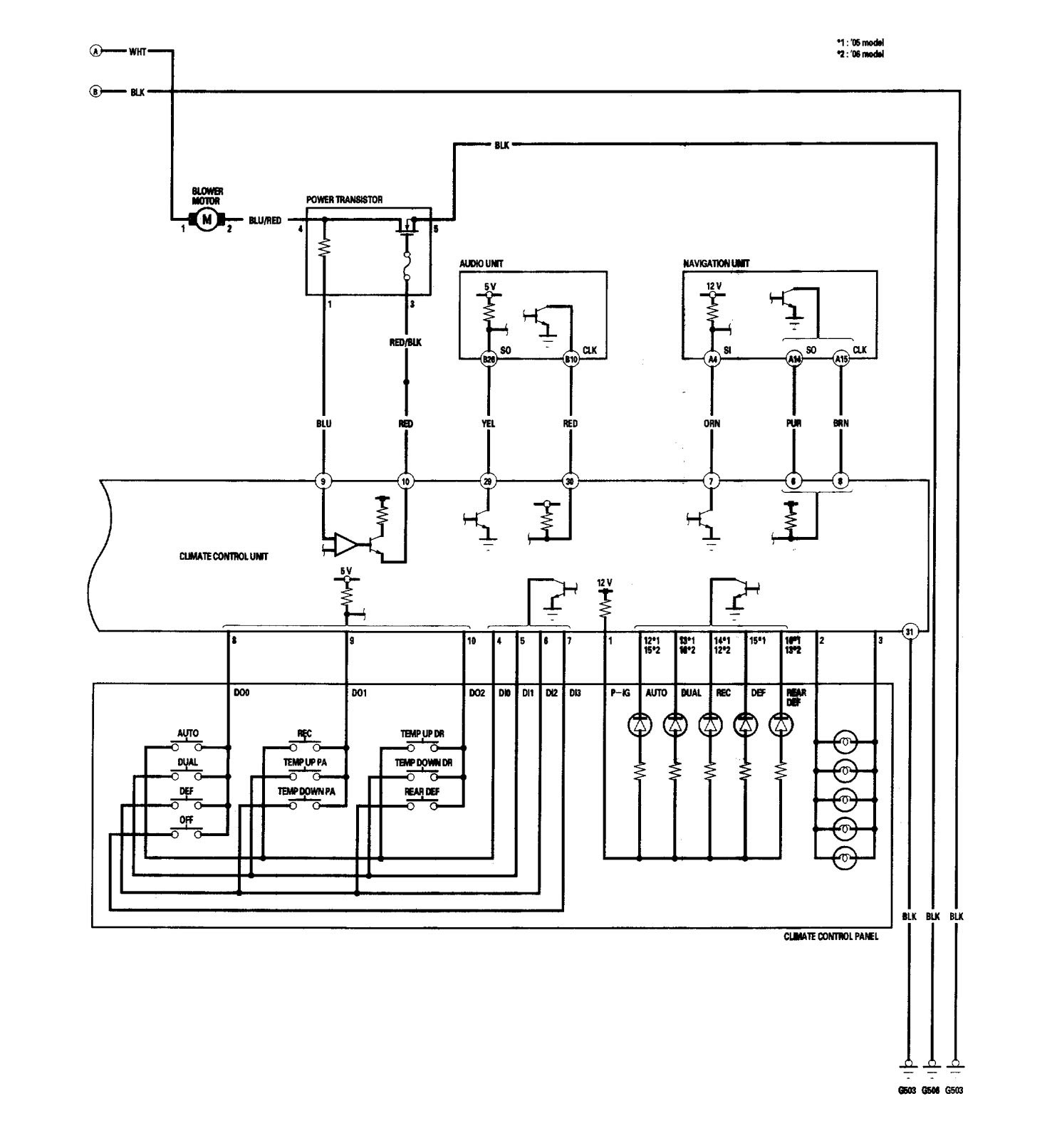 Schematic Acura Rl Simple Electrical Wiring Diagram For 1997 Vtec Auto 07 2006 Diagrams