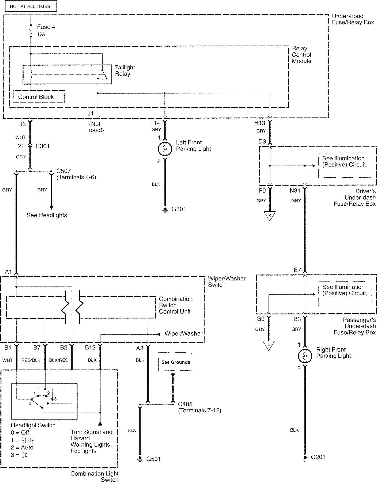 acura rl  2007 - 2008  - wiring diagrams