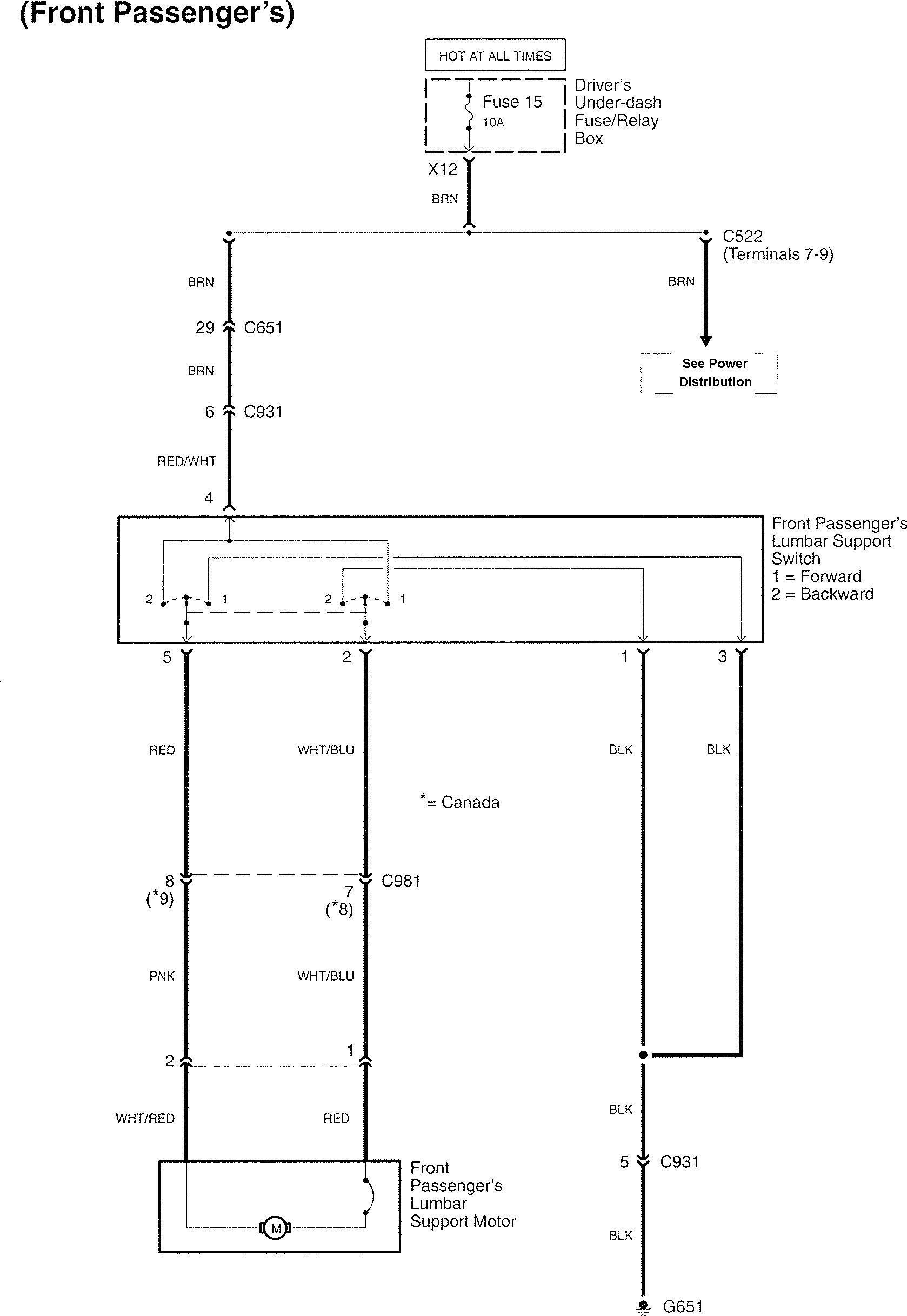 Acura Rl  2007  - Wiring Diagrams