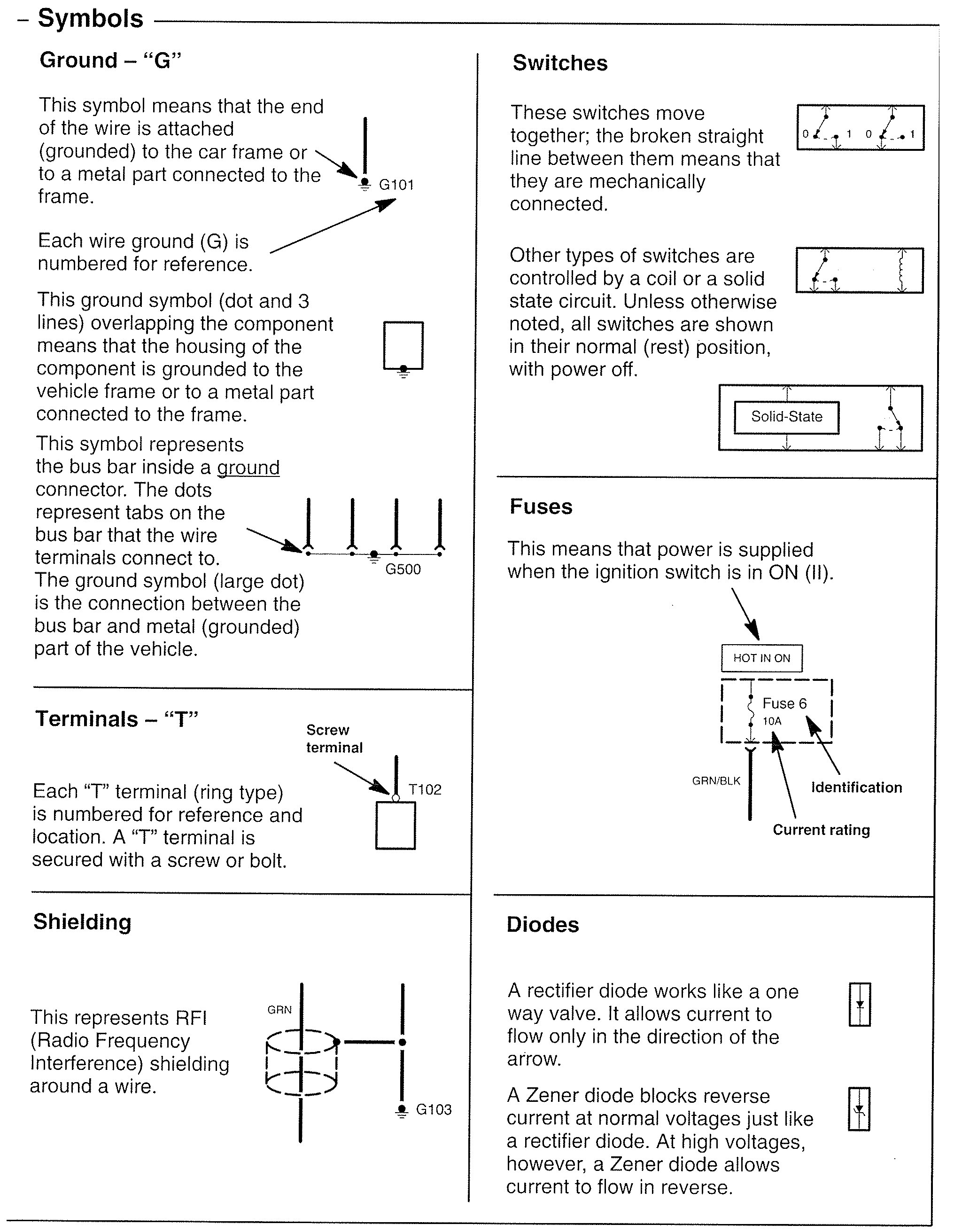 Acura Rl 2007 2008 Wiring Diagrams Symbol Id Carknowledge For Ground On Diagram 1 Part 3