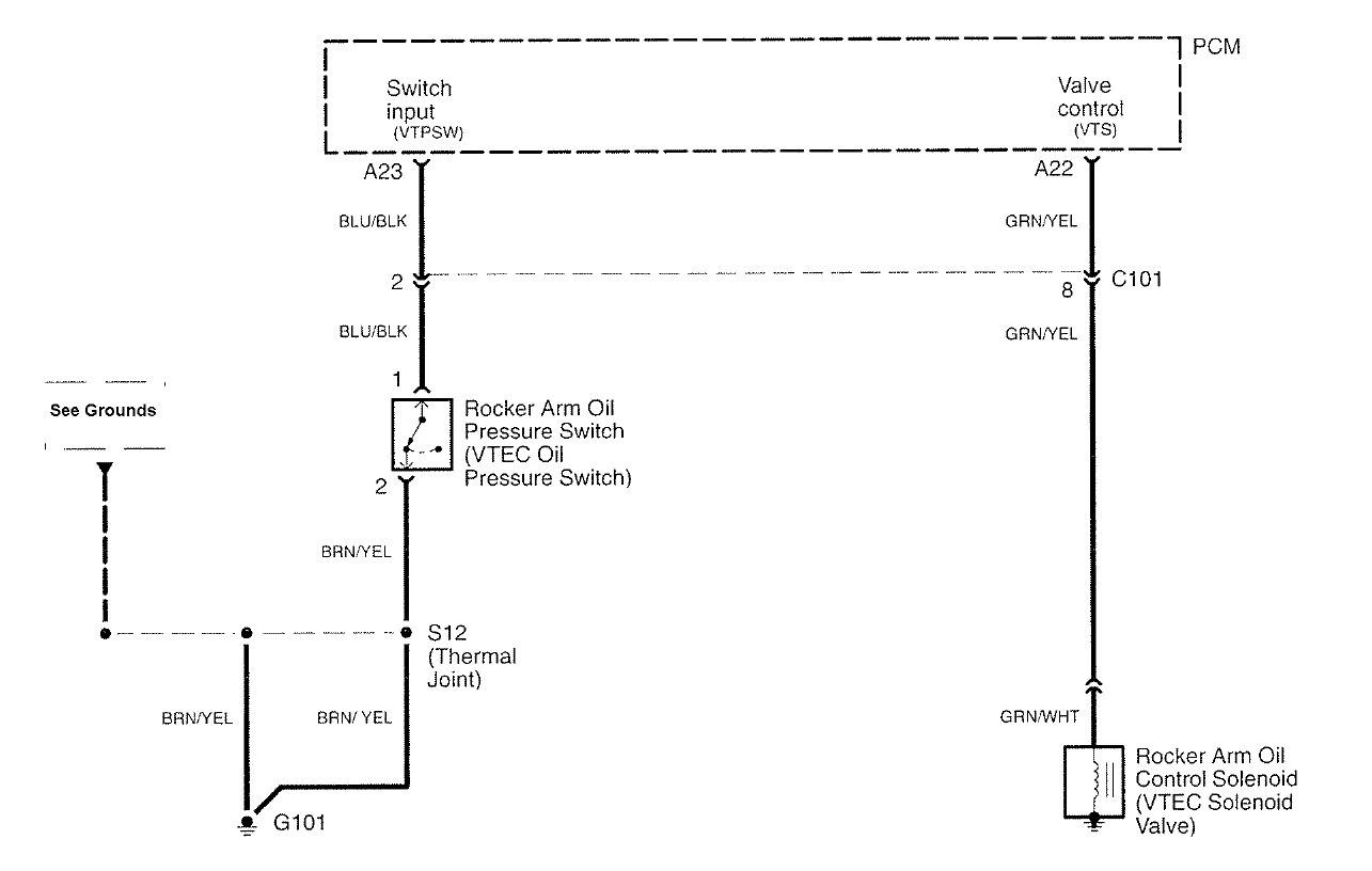 Acura Rl 2007 2010 Wiring Diagrams Vtec Control System Diagram