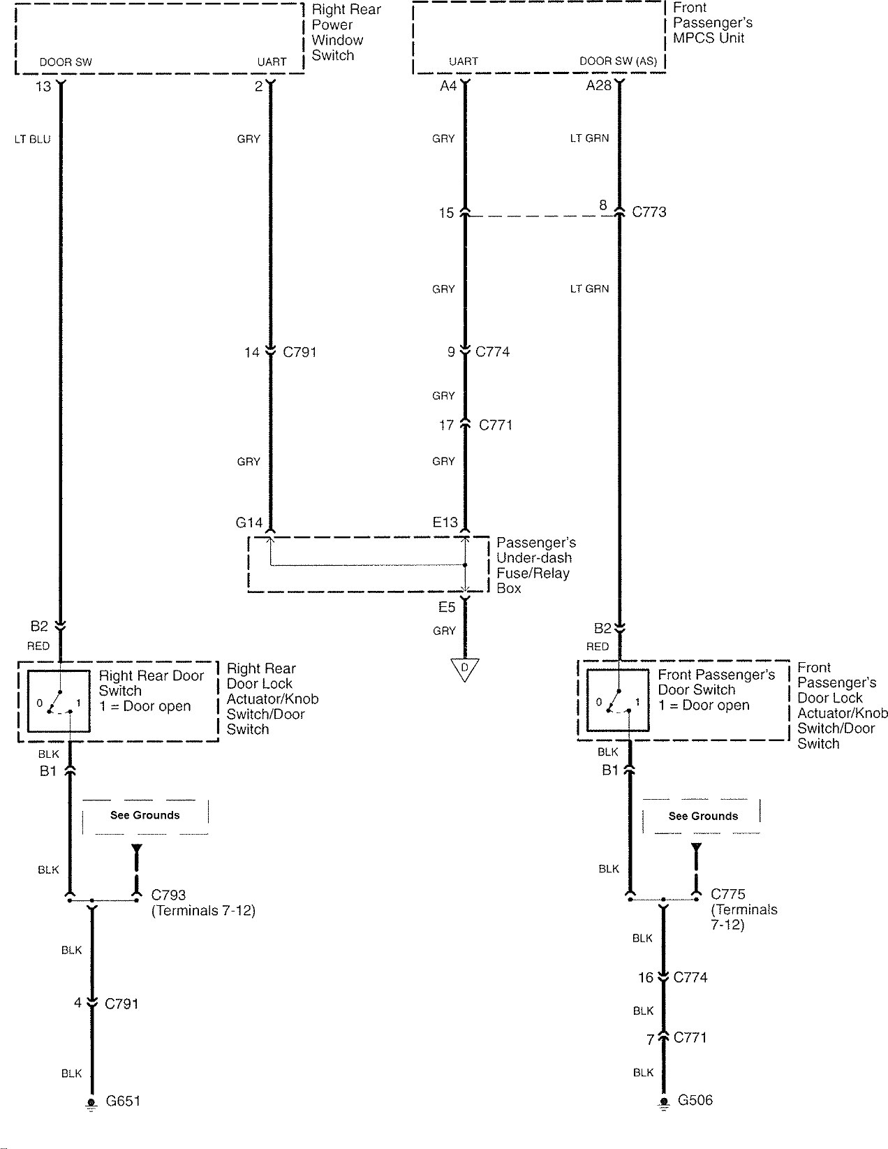 Acura Rl  2007  - Wiring Diagrams - Warning Indicators