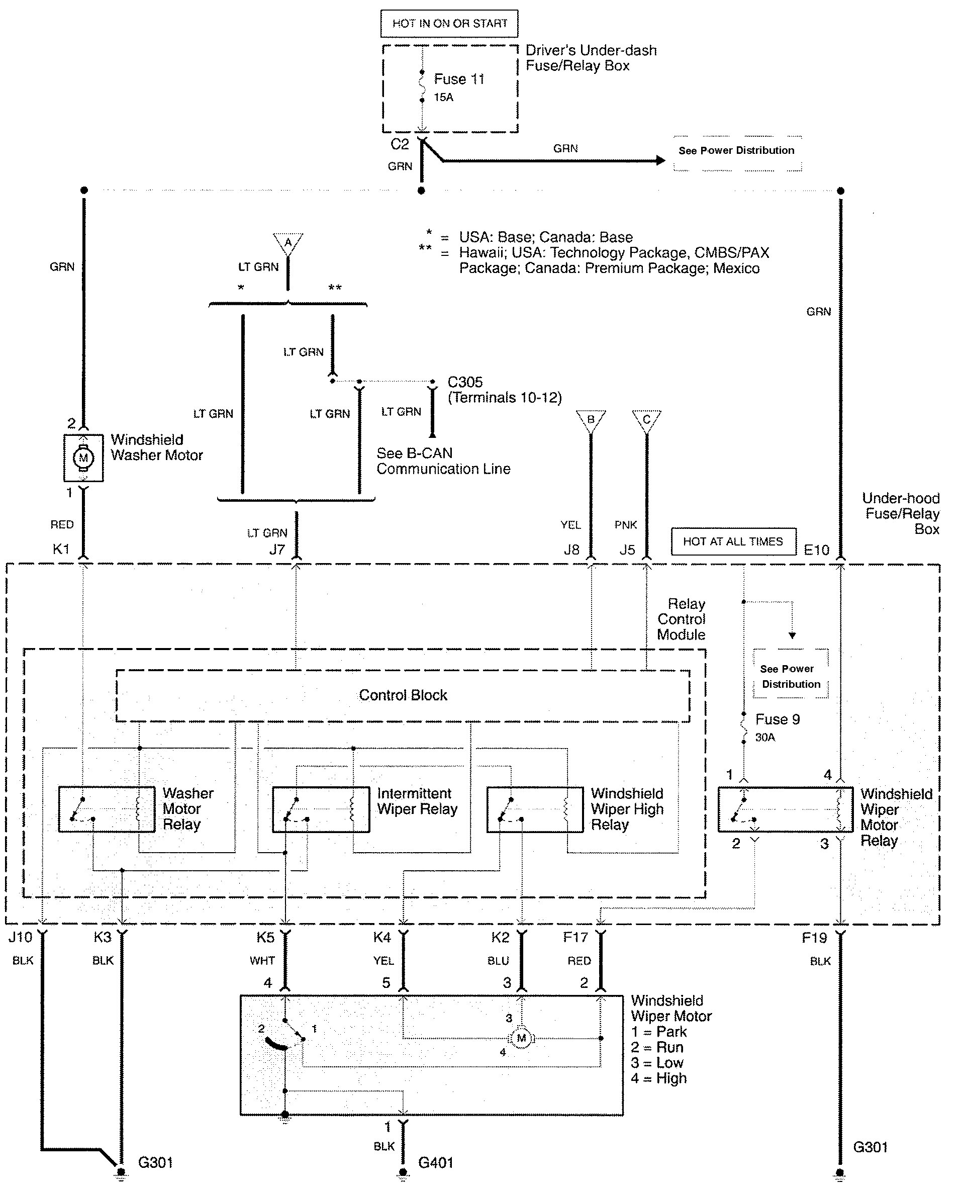 wiper washer wiring diagram kenwood kdc 155u wiring