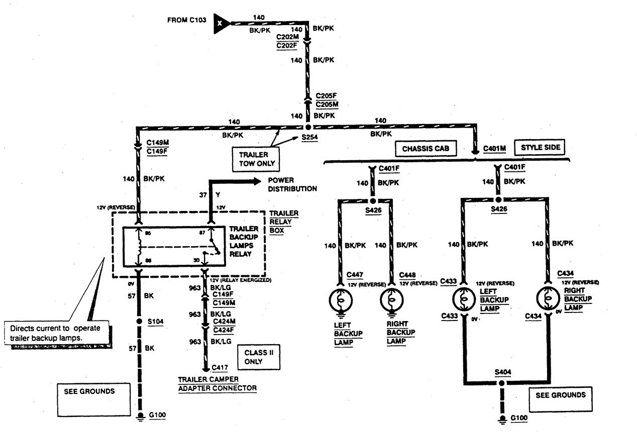 Ford F53 Trailer Wiring Diagram 1999 All