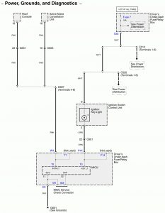 Acura RL - wiring diagram - computer data lines (part 2)