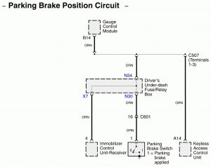 Acura RL - wiring diagram - connector