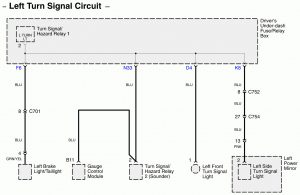 Acura RL - wiring diagram - connector (part 1)