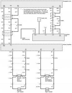 Acura RL - wiring diagram - HVAC controls (part 7)