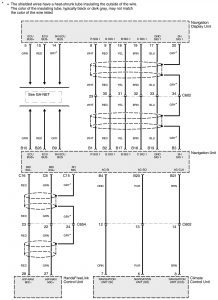 Acura RL - wiring diagram - HVAC controls (part 8)