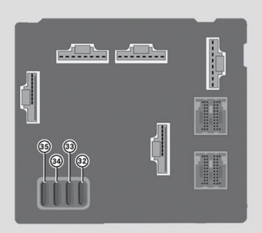 smart fortwo 2009 2010 fuse box diagram carknowledge. Black Bedroom Furniture Sets. Home Design Ideas