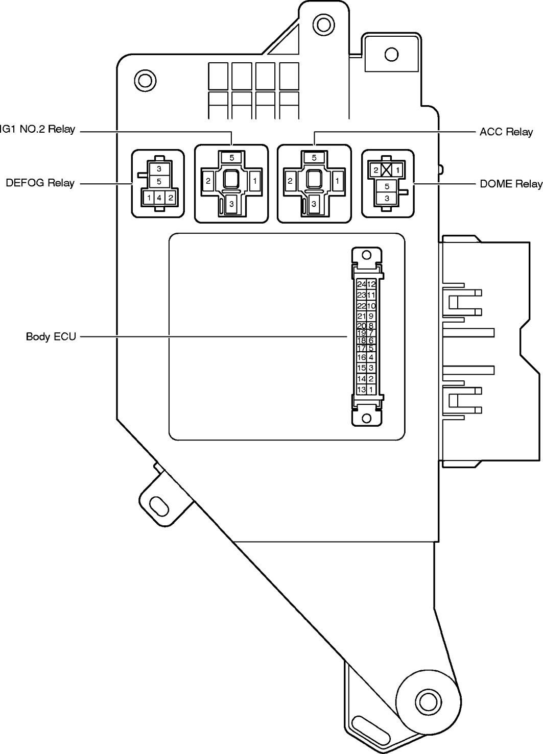 2001 Toyota Echo Fuse Box Diagram Wiring Library Land Cruiser 2005 Carknowledge