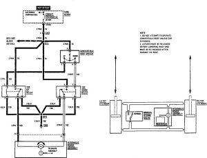 Acura SLX - wiring diagram - convertible top