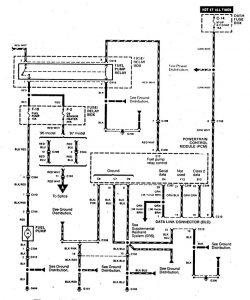 Acura SLX - wiring diagram - fuel controls (part 2)