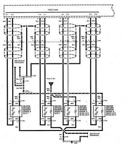 Acura SLX - wiring diagram - fuel controls (part 3)