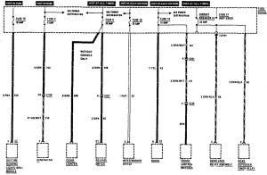 Acura SLX - wiringdiagram - fuse box (part 3)