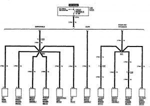 Acura SLX - wiringdiagram - fuse box (part 6)