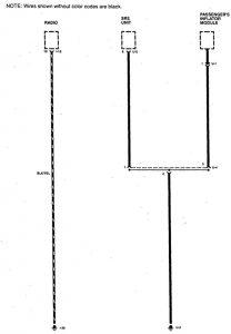 Acura SLX - wiring diagram - ground distribution (part 2)