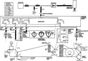 Acura SLX - wiring diagram - HVAC controls