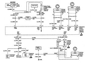 Chevrolet Astro - wiring diagram - brake controls (part 2)