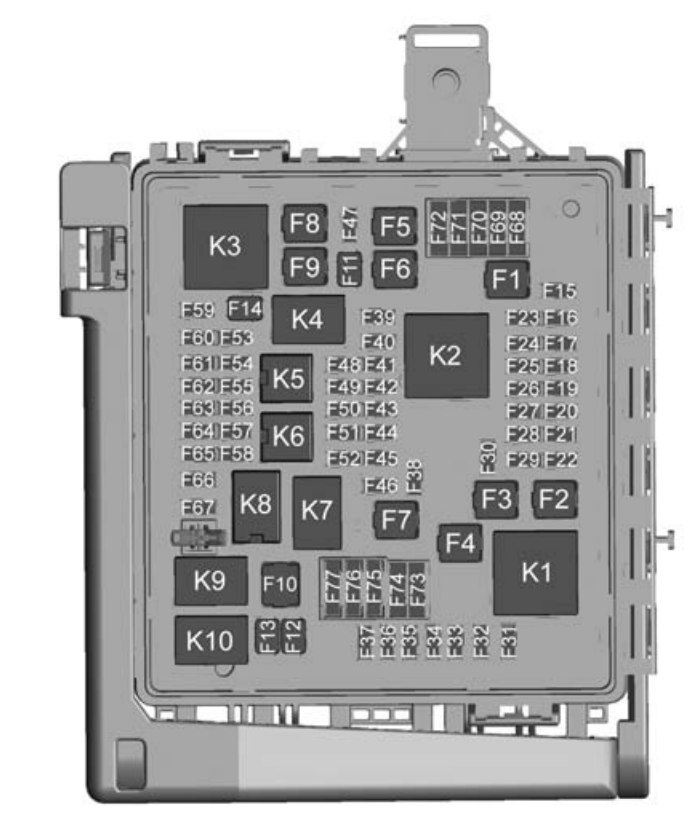 Chevrolet Camaro  2016   U2013 Fuse Box Diagram