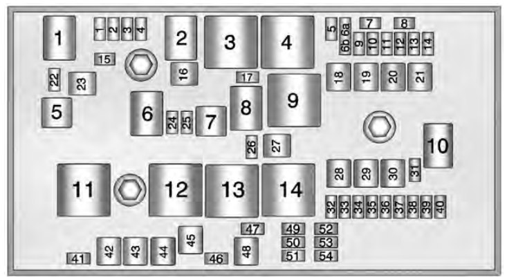 chevrolet volt  2013   u2013 fuse box diagram carknowledge