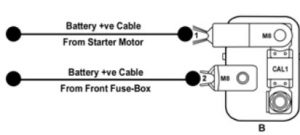 TATA Bolt - fuse box -  battery