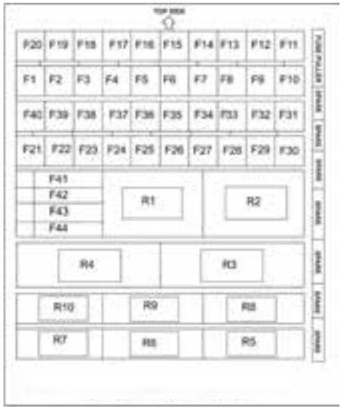 Tata Hexa  2017   U2013 Fuse Box Diagram