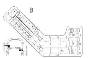 TATA Indigo Manzda -  fuse box - engine compartment (Safire)