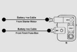TATA Tiago - fuse box -  battery