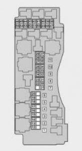 TATA  Tiago - fuse box -  engine compartment