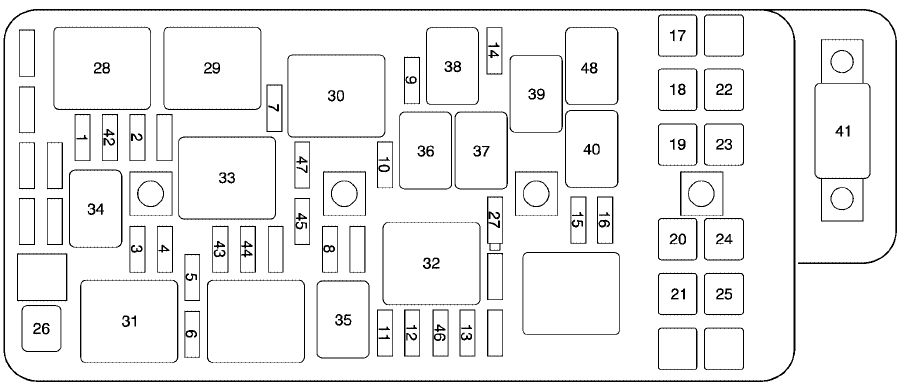 chevrolet malibu  2007   u2013 fuse box diagram