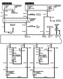 Acura CL (1997) - wiring diagrams - audio - Carknowledge.info