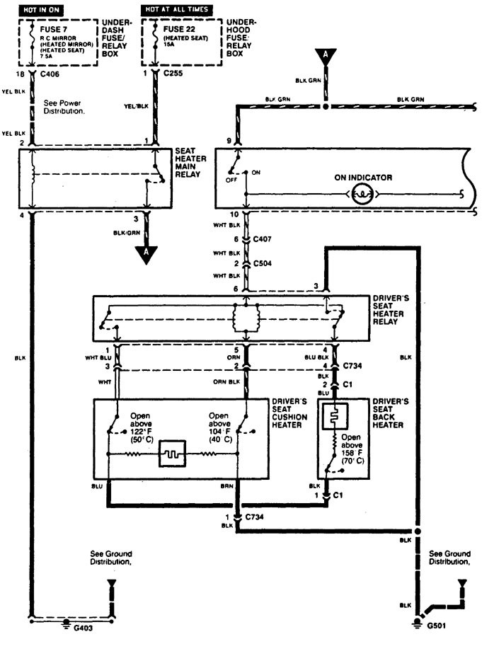 Acura Cl Wiring Diagram Heated Seats on Volvo 940 1993 Wiring Diagrams