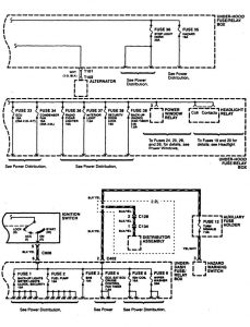 acura cl (1997) – wiring diagrams – power distribution