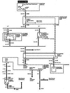 Acura CL - wiring diagram - power locks (part 5)