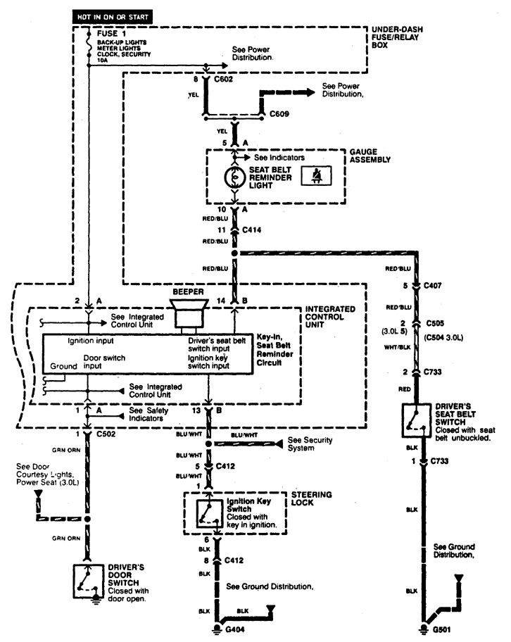 Acura Cl Power Seat Wiring Diagram Wiring Automotive Wiring Diagram