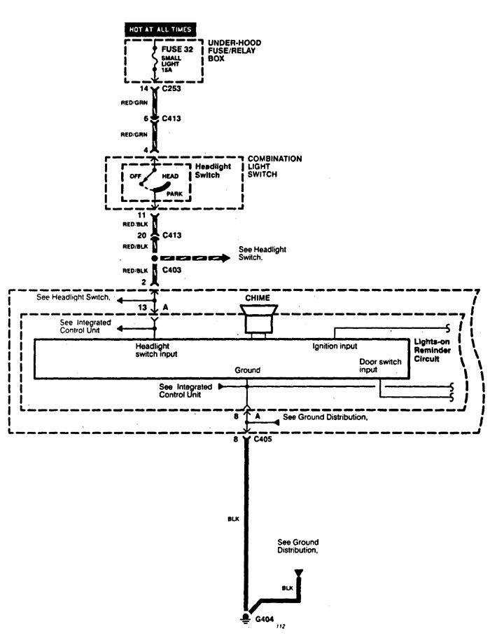 acura cl (1997 1999) wiring diagrams seat belt warning Wiring-Diagram Seat Belt Reminder acura cl wiring diagram seat belt warning (part 1)