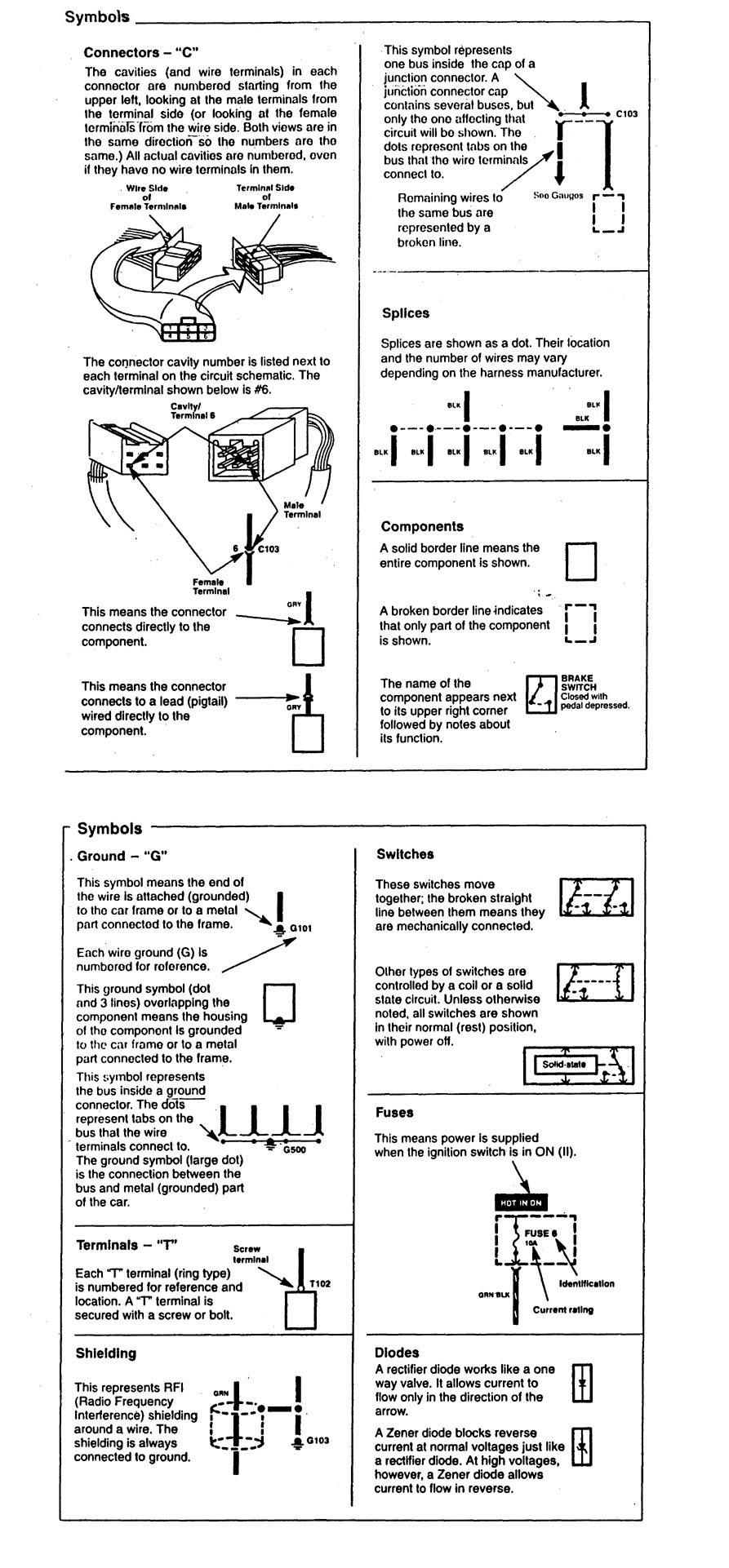 1997 Acura Cl Wiring Diagrams Library 99 Speaker Diagram Symbol Id Part 2
