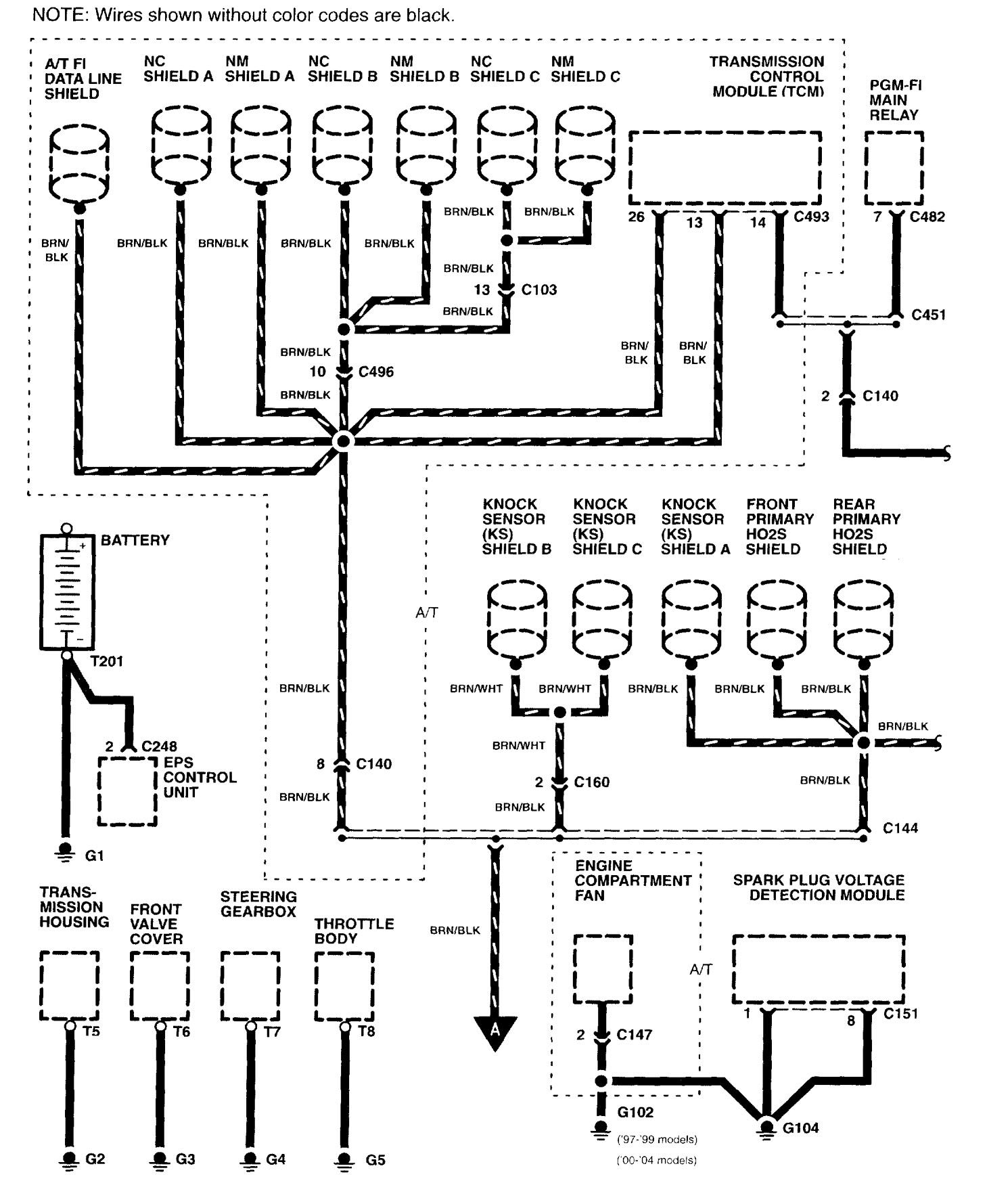 2004 Ford Freestar Sel Wiring Diagram Trusted Diagrams Fuse Ground Distribution All Kind Of 2003 Excursion