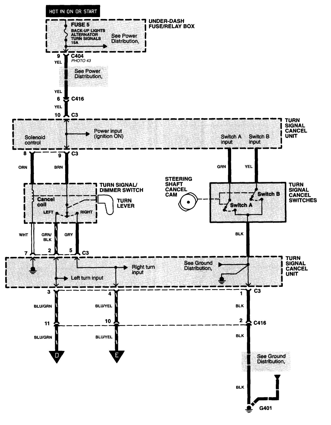 Acura Nsx 1997 2005 Wiring Diagrams Hazard Lamp Carknowledge Diagram