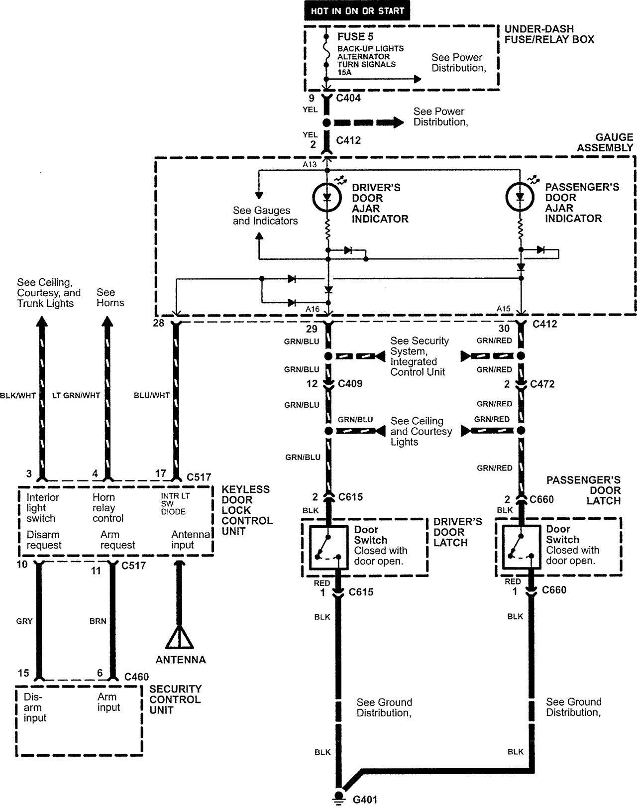 Acura Nsx 2005 Wiring Diagrams Power Locks Carknowledge Diagram