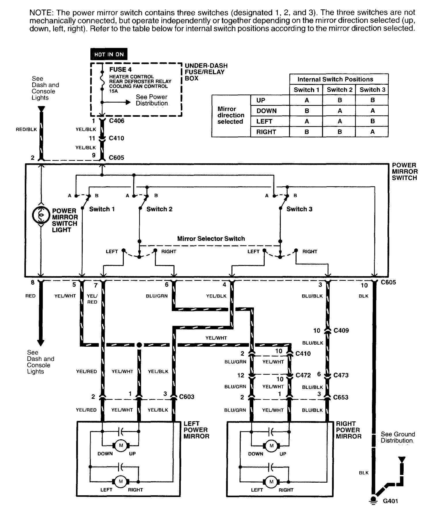 Acura Nsx  1997 - 2005  - Wiring Diagrams