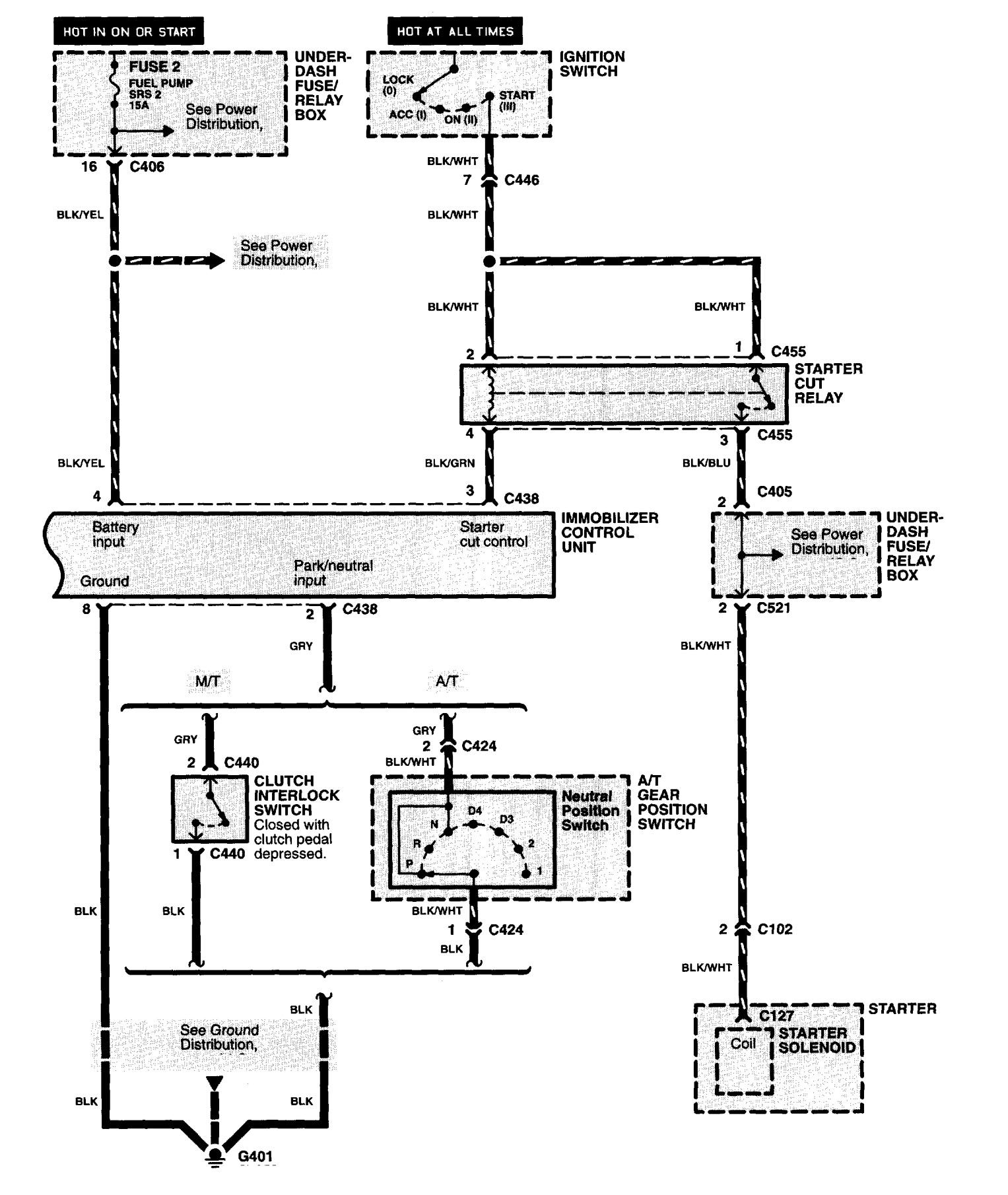 alarm wiring diagram for 1997 mustang acura nsx (1997 - 2004) - wiring diagrams - security/anti ...