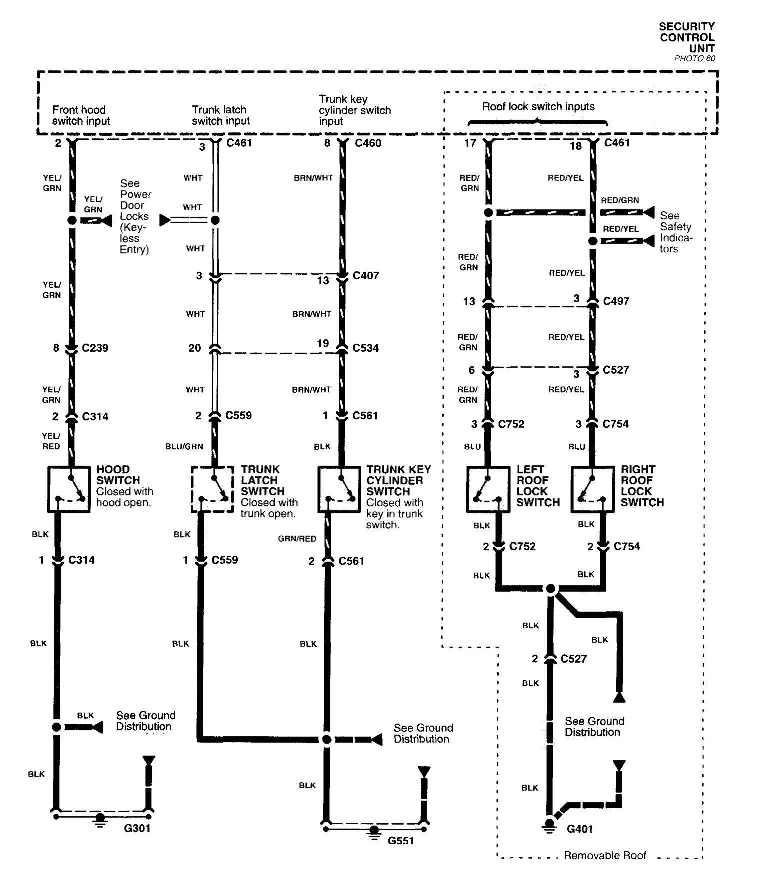 Acura Nsx  1997 - 2004  - Wiring Diagrams  Anti