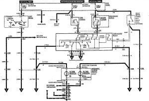 Acura SLX - wiring diagram - exterior lighting (part 1)