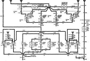 Acura SLX - wiring diagram - exterior lighting (part 2)