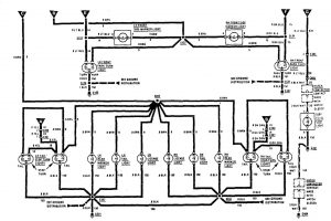 Acura SLX - wiring diagram - exterior lighting