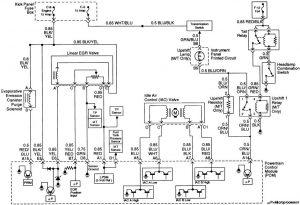 Acura SLX - wiring diagram - fuse control (part 7)