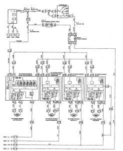 Acura SLX - wiring diagram - power windows